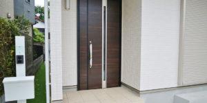 明石・神戸市西区で玄関のリフォーム